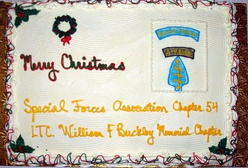 2011 Christmas Party Cake