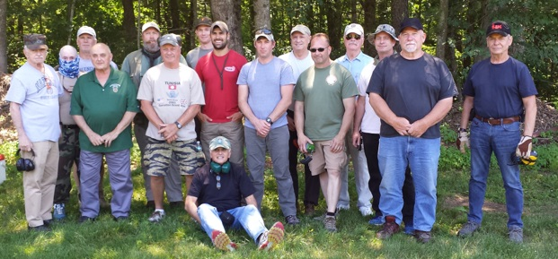 Participants Foreign Weapons Familiarization Course Chapter 54 SFA June 2017