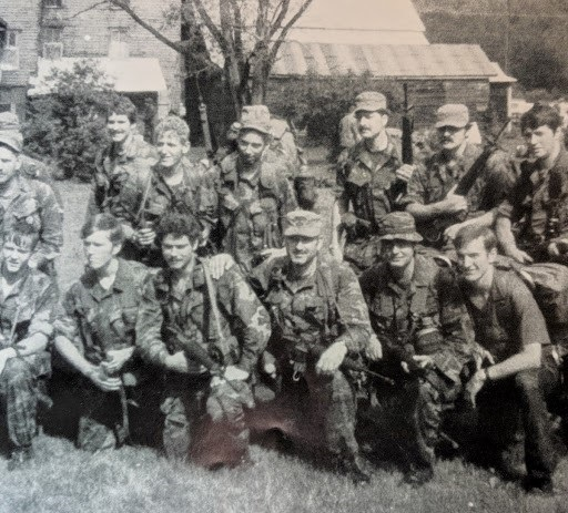 ODA A/1/11th SF in 10th SF Exercise in PA in 1976